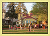 Golden Hour At The Tulip Festival (bigbrowneyez) Tags: flowers tulips people park sunny twilight dof thegoldenhour goldenhouratthetulipfestival bicycle grass gathering beautiful colourful visitors tourists bello foto casa bellissimo magical famous rideaucanal dowslakearea fun blossoms colours bright houses children trees alberi sole sun warm golden may spring tulipana ottawaontcanada tribute striking fabulous stunning