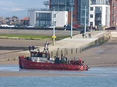 Shipping - Dredger [Doonhamer] 180325 Fleetwood (maljoe) Tags: fleetwood ship shipping dredger lancashire