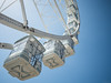 Ferris Wheel - Genova, Italy (Sebastian Bayer) Tags: riesenrad himmel stadt italien genua vergnügungspark hafen kabine