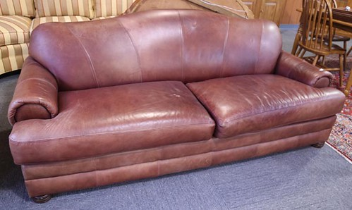 Brown Leather Sofa ($476.00)