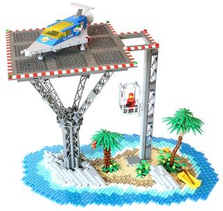 Tropical Landing Pad
