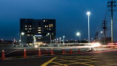 亞大醫院 (briandodotseng59) Tags: night light asia taiwan nikon nikkor exposure long red blue yellow coth5 color road history flickr street hospital