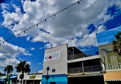 Sea and Breeze Hotel - Tybee Island Georgia (Meridith112) Tags: tybee tybeeisland tybeepier ga georgia chathamcounty south pier wood bluesky sky spring 2018 hotel palmtrees april nikon nikon2485 nikond610 seaandbreezehotel