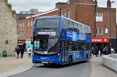 1641 HF66CFM (PD3.) Tags: 1641 hf66cfm hf66 cfm adl enviro 400 mmc bus buses psv pcv southampton hampshire hants england uk wilts dorset bluestar go ahead goahead group