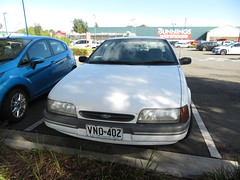 1993 Ford ED Falcon GLi Classic (RS 1990) Tags: 1993ford ed falcon sedan gli car white prospect adelaide southaustralia friday may 4th 2018
