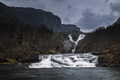 Hiafossen (Ornaim) Tags: hiafossen waterfall falls nature landscape viglesdalen nes ardal rogaland ryfylke river long exposure norway norge nikon d850 tamron lee filter nisi benro travel gnd nd mountain