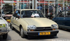 Citroën GSA Club 1980 (XBXG) Tags: 78zbtl citroën gsa club 1980 citroëngsa beige citromobile 2018 citro mobile expo haarlemmermeer stelling vijfhuizen nederland holland netherlands paysbas carshow youngtimer vintage old classic french car auto automobile voiture ancienne française vehicle outdoor