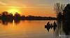Days End (James Korringa) Tags: fishing canoe family sunset stanton michigan