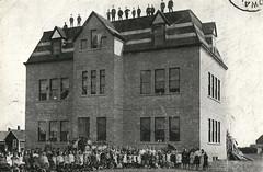 Gladstone - Community School (vintage.winnipeg) Tags: manitoba canada vintage history historic gladstone