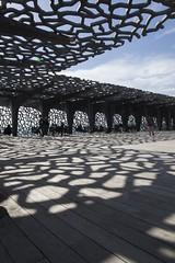 MuCEM 2 (++andrea++) Tags: marseille frankreich südfrankreich france mucem museum architektur architecture schatten shadows riciotti