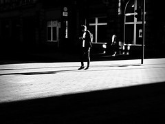 street...shadowplay (Eggii) Tags: street city people monochrome bw art weather white black composition blackandwhite