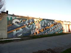 All that is solid melts into air (aestheticsofcrisis) Tags: street art urban intervention streetart urbanart guerillaart graffiti postgraffiti rochester new york ny us usa maxripo walltherapy mural muralism