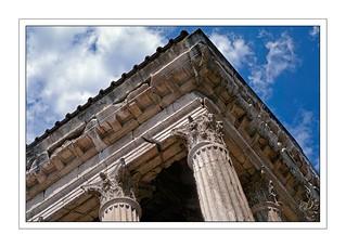 Vienne, temple d'Auguste et de Livie
