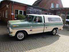 Ford F-250 Pickup 1972 (Zappadong) Tags: tostedt 2017 ford f250 pickup 1972 zappadong oldtimer youngtimer auto automobile automobil car coche voiture classic classics oldie oldtimertreffen carshow