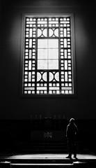 worship [2] (frax[be]) Tags: streetphotography church atmosphere dark highcontrast composition lightshadows mystic rokkor 28mm fuji xe3 indoor monochrome noiretblanc noir poetry silhouette blackwhitephotos blackandwhite bw