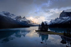 Maligne Lake, Jasper National Park (mpurciel) Tags: jaspernationalpark malignelake spiritisland canada alberta rockymountains landscapes landscapephotography kayak kayaking backpacking wilderness nature beauty rockies travel vacation top10placestovisit