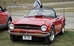 Triumph TR6 (SPV Automotive) Tags: triumph tr6 roadster convertible classic sports car red