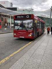 London United SN55 HLA (West Scotland Transport) Tags: bus decker single londontransport transportforlondon tfl ratpgroup 30721 dps30721 hla sn55 sn55hla plaxtonpointer pointer plaxton dennisdart dart dennis c1 whitecity westfield londonbuses londonbus londonunited