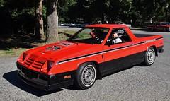 1983 Dodge Rampage 2.2 (Custom_Cab) Tags: 1983 dodge rampage 22 pickup truck pick up omni red