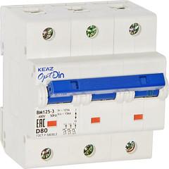 Автоматический выключатель ВМ125-3D80-14Iн-УХЛ3 (Реле и Автоматика) Tags: автоматический выключатель вм1253d8014iнухл3