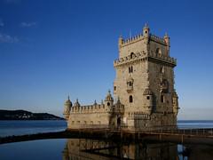 Belem Tower (█ Slices of Light █▀ ▀ ▀) Tags: torre de belém belem tower st vincent fort gateway river tagus 16th century portuguese manueline style unesco world heritage site