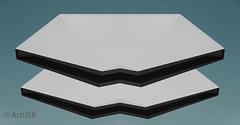 Abstract Planar Objects (ARTUS8) Tags: minimalismus color brücke nikon28300mmf3556 abstrakt digitallycomposed technik flickr pastell farbe nikond800 colour geometrisch