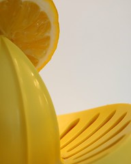 Plastic squeezer (ryorii) Tags: plastic squeezer lemon citrus yellow macro macromondays macrophoto macrophotography canon spremiagrumi limone giallo plastica