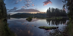 Not all mornings are created equal (acase1968) Tags: 10photo photomerge lassen lake nikon d750 manzanita california sunrise reflections clouds volcanic national park nikkor 24120mm f4g dawn al case