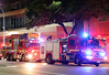 Lighting up the Night (adelaidefire) Tags: samfs sa mfs south australian metropolitan fire service scania 1602 1101 rosenbauer metz capa mills tui australia