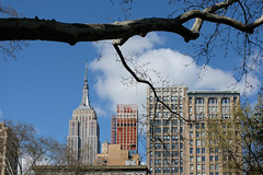 Midtown Manhattan (Dalliance with Light (Andy Farmer)) Tags: sooc mitakon35mmf095 madisonsquarepark manhattan empirestatebuilding nyc newyork unitedstates us