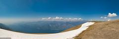 Monte Baldo | Gardasee (PanoramaRundblick) Tags: alpin blauerhimmel gardasee gebirge gleitschirmflieger italien lagodigarda lakegarda montebaldo mountains paragleiter takeoff malcésine