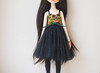 (Rybi nYak) Tags: toy tinydoll tiny dollzone doll dress dollzonemisskitty bjd bjddress bjdclothes bjdhandmade