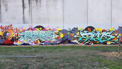 Naste & Dens... (colourourcity) Tags: streetart streetartnow streetartaustralia melbourne melbournestreetart melbournegraffiti graffiti graffitimelbourne colourourcity nofilters awesome original naste nasa naser dens wca ac allcity joiner