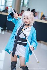 Okita Souji (Tumeatcat) Tags: anime cosplay portrait fgo fate fategrandorder saber sony a7iii a7m3 bangkokcomiccon thailandcomiccon