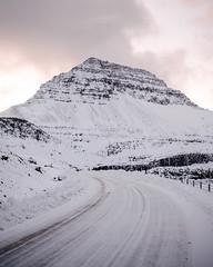 Beautiful mountain highways in the Faroe Islands at sunrise. (Tanner Wendell Stewart) Tags: ifttt 500px mountain peak alpine mountaineering slope backcountry mountainside snow glacier top icefield pass faroe islands atlantic airways