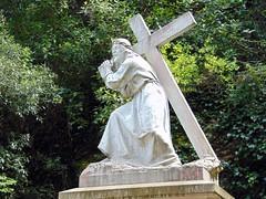 Quart Misteri de Dolor. Jesús amb la Creu