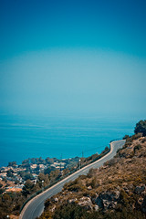 Coastal Road (rwibring) Tags: coast road spain andalucia blue canon 550d sigma 1770 sea beach bay ocean landscape water sky eos marbella europe