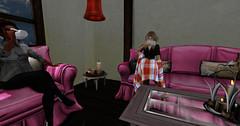 Secret Lives: Episode 73:Wednesday 5/02/2018 (Teddi Beres) Tags: second life sl secret lives soap opera drama melodrama intigue mystery haunt living room laq friend danger spooky strange