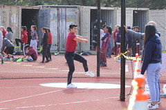 IMG_8450 (susanw210) Tags: track running trackandfield teamwork atheletes students highschool team jumping hurdles lowell cardinals highschoolsports