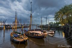 Oevelgönne, Hamburg (funtor) Tags: marina twilight hamburg germany colors light