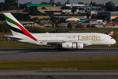 A6-EUR (rcspotting) Tags: gru sbgr a6eur airbus a380800 emirates airline