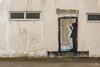 street art (stevefge) Tags: 2018 dunstonstaithes gateshead newcastle northeast tyne uk street streetart windows buildings graffiti reflectyourworld silhouette drawing figure doorway
