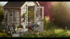 Simple Spring (Hara | kumuckyhara) Tags: kumuckyhara secondlife fameshed applefall dustbunny thor refuge littlebranch