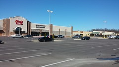 Wide view of Stateline Square (Retail Retell) Tags: conns homeplus home appliances connstruction southaven ms former super kmart center stateline road construction desoto county retail statelinesquareshoppingcenter furniture electronics mattresses