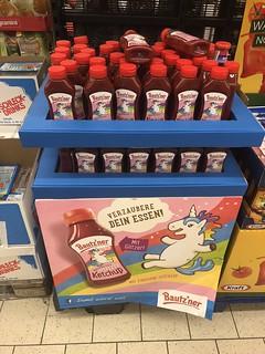 Bautz'ner Roserotes Glitzer Ketchup