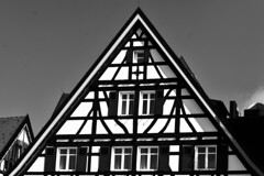 Timbered House (PinoyFri) Tags: fachwerkhaus fachwerk timberedhouse bw blackandwhite house casademadera sw excellence architecture bn excellent quality timeless classic