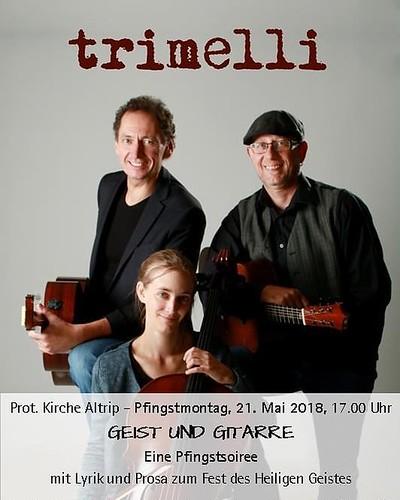 Noch nix vor am Pfingstmontag? Geist und Gitarre (und Cello) in Altrip! 😊