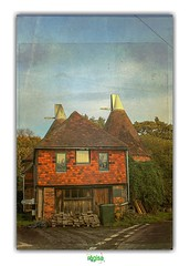 THE TRIANGLE OAST HOUSE in CHIDDINGSTON (régisa) Tags: oast house chiddingston hop kiln brewing