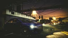Always Drifting in the Same Car (polyneutron) Tags: photography mitsubishi lancer evo sport mostwanted nfs needforspeed pc depthoffield dof night motion