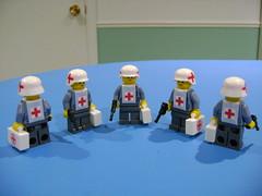 Custom Lego WW2 German medic soldier (TekBrick) Tags: custom lego ww2 german medic soldier red cross white helmet war moc